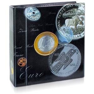 SAFE 7385 Coin Compact Ringbinder Münzalbum ARTline DESIGN passend für SAFE Nr. 7855 + 7857 Münzhüllen - Ergänzungsblätter Compact - für Münzenrähmchen - Platz für bis zu 400 Coinholder