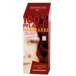 SANTE Pflanzenhaarfarbe - mahagonirot 100 g