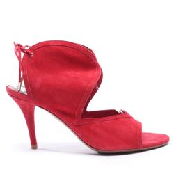Aquazzura Damen Sandaletten rot, Größe 41, 4935360