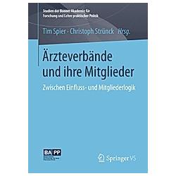 Ärzteverbände und ihre Mitglieder - Buch