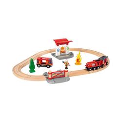 BRIO® Spielzeugeisenbahn-Set Bahn Feuerwehr Set