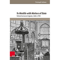 To Meddle with Matters of State. Christoph Ketterer  - Buch
