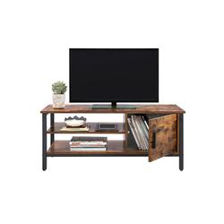 VASAGLE Lowboard LTV42BX, TV-schrank, für Fernseher bis 48 Zoll, vintage