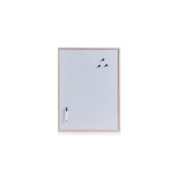 HTI-Living Pinnwand Magnettafel-Set aus Kiefernholz, Magnettafel