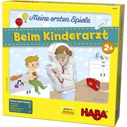 Haba Spiel Meine ersten Spiele - Beim Kinderarzt, Made in Germany bunt Kinder Holzspielzeug