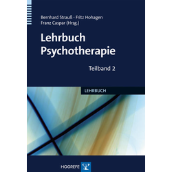 Lehrbuch der Psychotherapie: Buch von