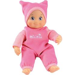 Smoby Babypuppe MinikKiss Puppe, rosa