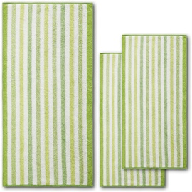 DYCKHOFF Green Paradise Brush Handtuch 50 x 100 cm grün