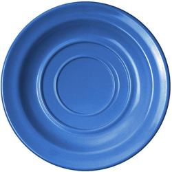 WACA Untertasse, (4 Stück), Melamin, 14 cm blau