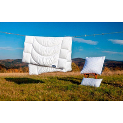 Microfaserbettdecke, Home, Dunlopillo, warm, (1-tlg) 155 cm x 220 cm
