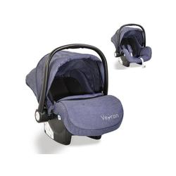 Moni Babyschale Kindersitz, Babyschale Veyron Gruppe 0+, 3.1 kg, (0 -13 kg) Sonnendach, Adapter blau 44.5 cm x 36 cm x 675 cm