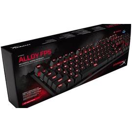 Kingston Alloy FPS Gaming Tastatur MX-Blue DE (HX-KB1BL1-DE/A2)