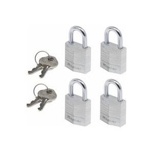 4x1 Master Lock Vorhängeschloss gleichschließend 9120EURQNOPCC