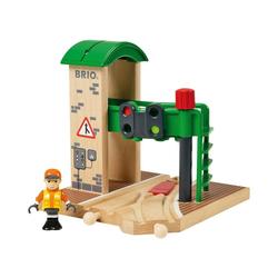 BRIO® Spielzeug-Eisenbahn Signalstation