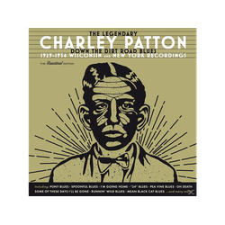 Charley Patton - Down The Dirt Road Blues-1929-34 Wisconsin/+ (CD)
