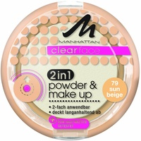 Manhattan Clearface 2 in1 Powder Make-up 79-sun beige