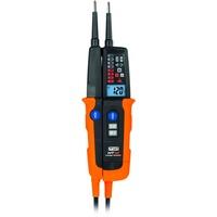 HT Instruments HT10 Zweipoliger Spannungsprüfer CAT IV 600V Akustik, Bargraph, LCD,