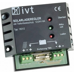 IVT Shunt Laderegler PWM 12 V, 24V 8A