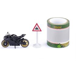 Siku Spielzeug-Auto Motorrad mit Tape
