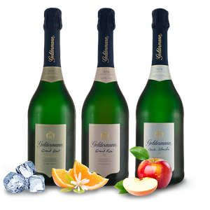 Geldermann Sekt Probierpaket Les Grands 3 Flaschen