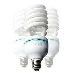 Walimex Pro Spiral-Tageslichtlampe 85W, 3er Set