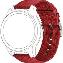Topp für Garmin vivomove/vivoactive 3 Ersatzarmband Rot