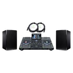 Denon DJ Prime 4 Standalone DJ System DN-506S Set