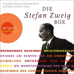 Die Stefan Zweig Box. 6 CDs als Hörbuch CD von Stefan Zweig