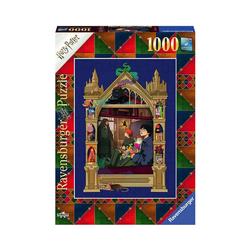 Ravensburger Puzzle Puzzle Harry Potter Weg nach Hogwarts, 1.000 Teile, Puzzleteile