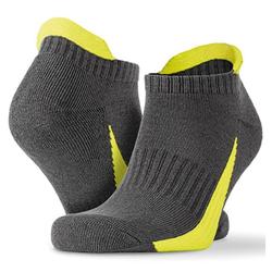 Sneaker Sports Socks (3 Paar Pack) | Spiro Grey/Lime L/XL (42/46)