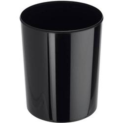 HAN i-Line 18200-13 Papierkorb 20l (Ø x H) 283mm x 340mm Styrol-Methyl-Methacrylat (SMMA) Schwarz 1