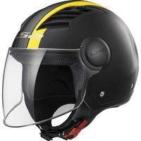OF562 Airflow Metropolis Matt-Black/Yellow