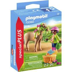 Playmobil Mädchen mit Pony 70060