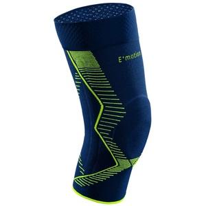 medi Genumedi E+motion - Kniebandage unisex   blau/grün   Größe 4   Sportbandage für hohe Stabilität und extra viel Bewegungsfreiheit   Beidseitig tragbar