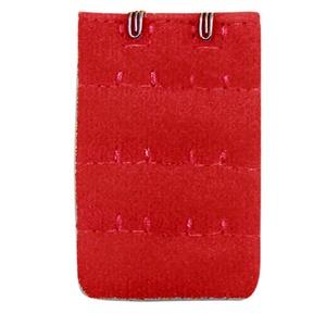 Intimates für Frauen, Frauen Soft Comfortable BH 2x3 Hooks Extender Strap Verstellbare Verlängerung, Kleidung für Frauen (Red Free Size)