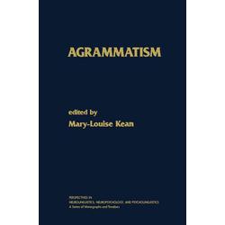 Agrammatism: eBook von