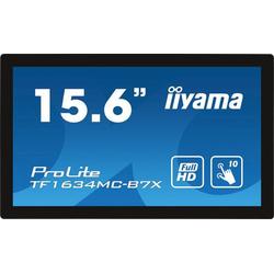 Iiyama TF1634MC-B7X Industrie-Touchscreen-Monitor 39.6cm (15.6 Zoll) EEK B (A+++ - D) 1920 x 1080 Pi