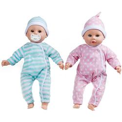 Babypuppen-Zwillinge Luke & Lucy