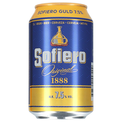Sofiero Gold Starköl 7,5% 24 x 0,33 ltr.