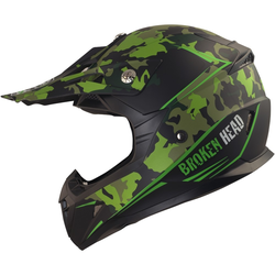 Broken Head Crosshelm Squadron grün