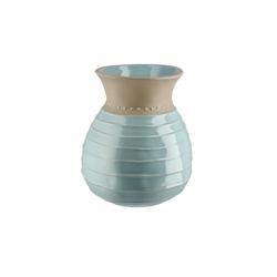 Vase ¦ blau ¦ Steinzeug Ø: 18
