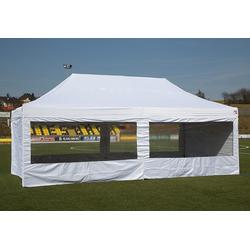 Expresszelte Hauszelt ExpressZelte Zelt, weiß