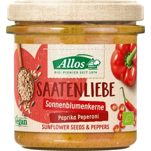 Allos Saatenliebe Sonnenblumenkerne Paprika Peperoni bio