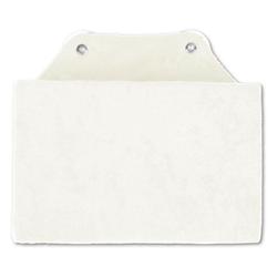 Bestlivings Reisekissen, Badewannenkissen, Nackenkissen in 16x25cm, Kissen für die Badewanne weiß