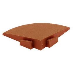 Bergo Flooring Klickfliesen-Eckleiste, für Kunststofffliesen in Terra