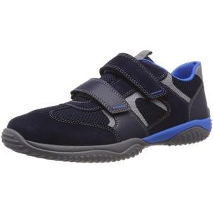 Superfit Storm Sneaker, Blau (Blau 80), 25 EU