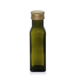 100ml antikgrüne Flasche