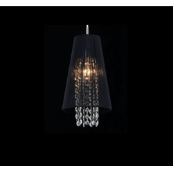Casa Padrino Jugendstil Kristall Deckenleuchte Nickel 17 x H 100 cm Jugendstil - Deckenlampe Wand Beleuchtung