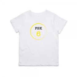 """Kinder T- Shirt zum 6.Geburtstag """"FSK 6"""""""