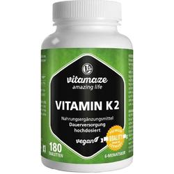 Vitamin K2 200 ug hochdosiert